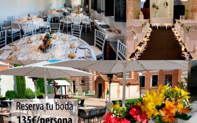 Últimas fechas para bodas 2019
