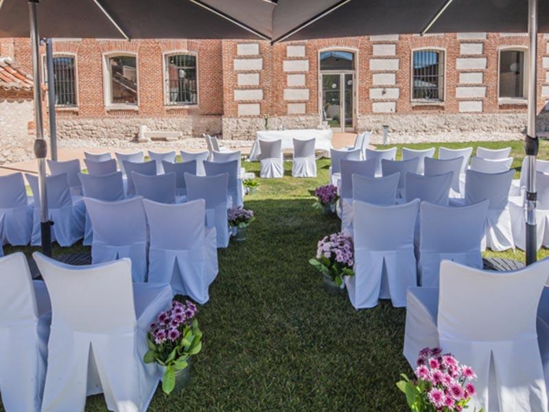 Instalaciones 11 - Bodas, eventos, gastronomia en Valladolid - Palacio del Postigo
