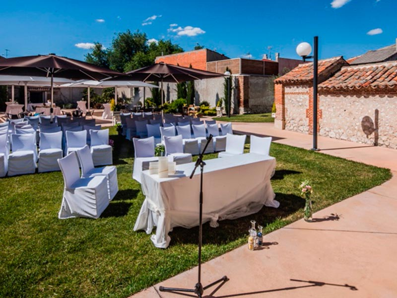 Instalaciones 13 - Bodas, eventos, gastronomia en Valladolid - Palacio del Postigo